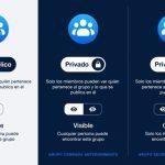 La configuración de privacidad de los grupos de Facebook ha cambiado